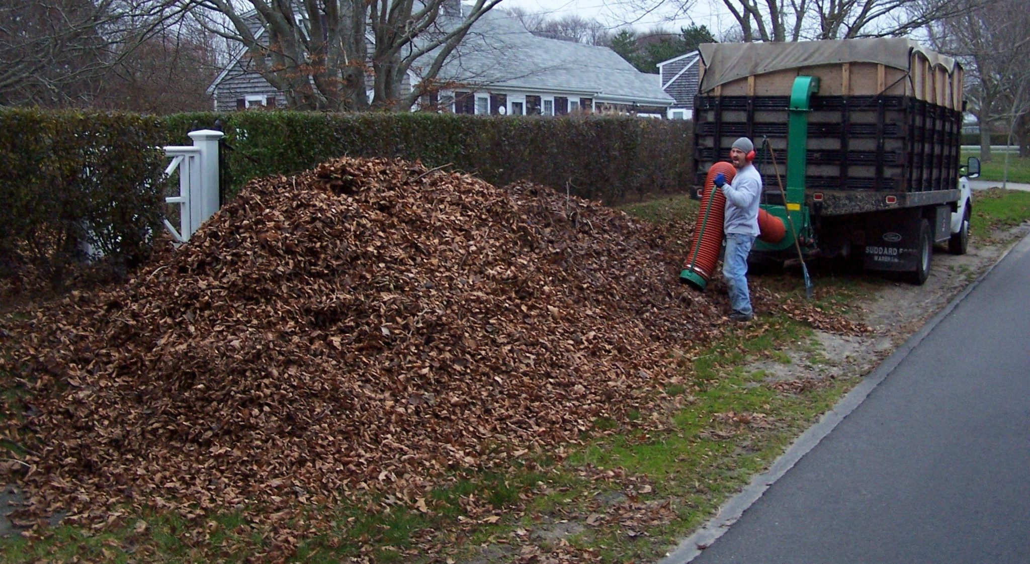 Barnstable Spring Fall clean up services Bourne Falmouth MA