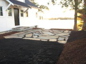 Bourne Bluestone patios hardscape contractors Sandwich Falmouth
